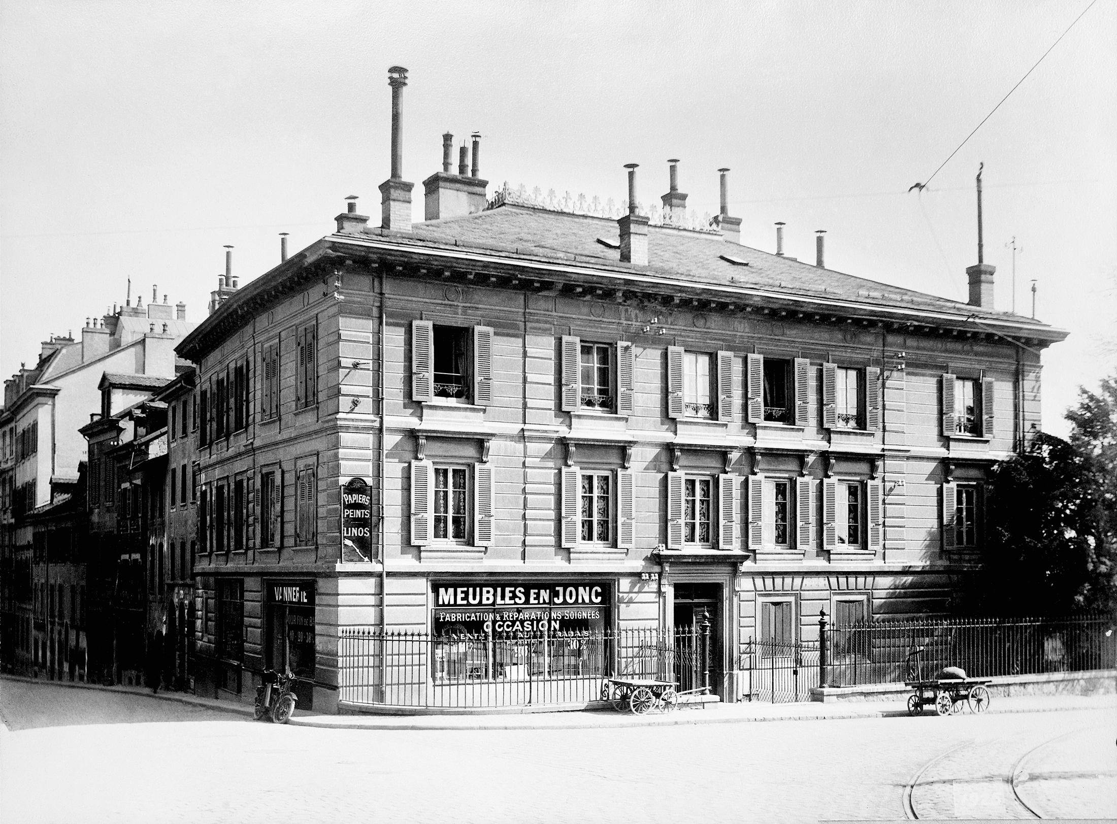 Haus Auberjonois. Das erste Büro der Vaudoise (1895-1901).